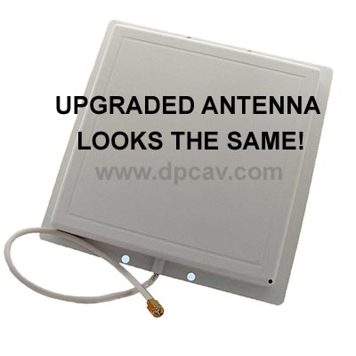 The modified antenna's appearance does not change!