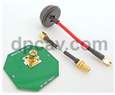 Omni & Patch Antennas for the monitor