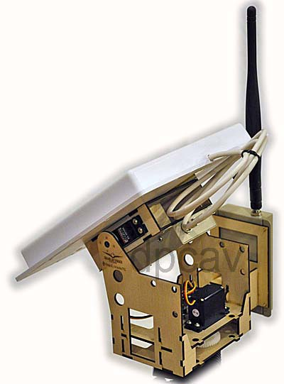 Kit with 900MHz antennas and receivers, corner view.
