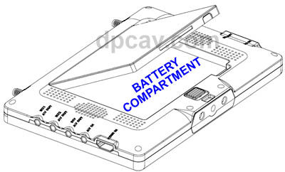 Black Pearl Battery Compartment