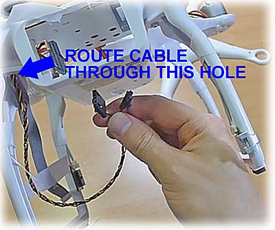 Cable Installation Hole
