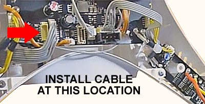 Cable Plug Location