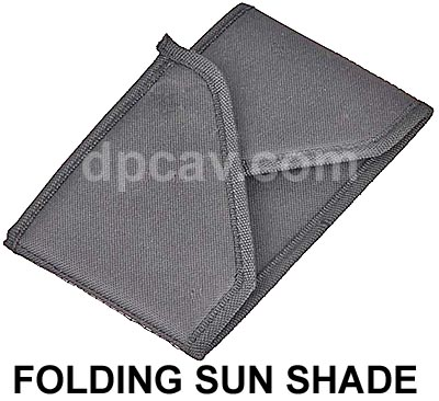 Folding Sun Shade Included.