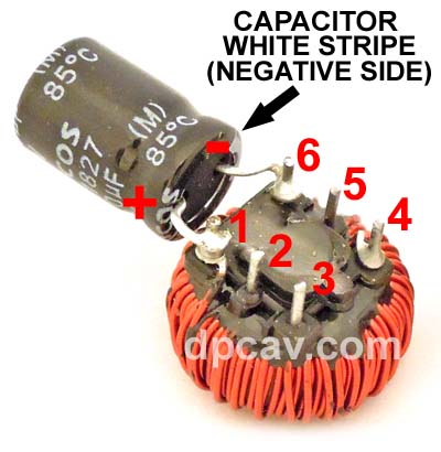 Capacitor Installation