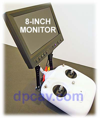Fits 8-inch LCD
