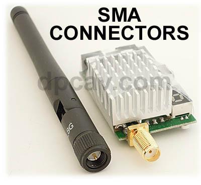 SMA Connectors.