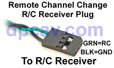 R/C Receiver PPM Plug