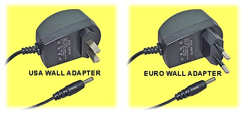 Wall Adapter Choices