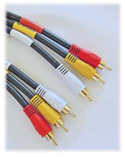 RCA Plug Cable (3), High Performance