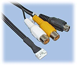 RCA Cable for Lawmate A/V Transmitter