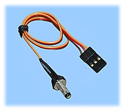 Power Cord, 1.3mm Micro Barrel Plug to R/C Connector