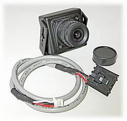 CCD Color Camera, 700-Line (FatShark Model #1224)
