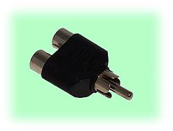 RCA 1-to-2 Splitter