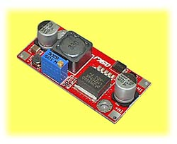 Adjustable Voltage Regulator, 1-35V Step Down