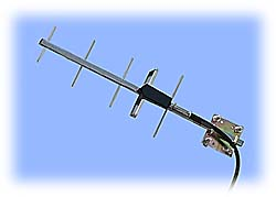 900MHz High Gain Yagi Antenna, +9dBi