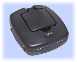 Airwave 5.8GHz A/V Transmitter with Patch Antenna, 100mW