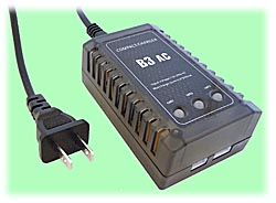 LiPO Battery Charger with Cell Balancer, USA AC