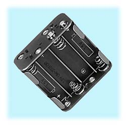 8-Cell AA-size Battery Holder