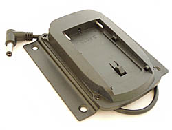 Li-Ion Battery Holder with Mounting Plate (for NP-F550 Type Battery)