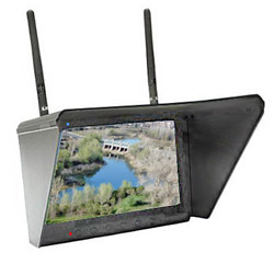 """Black Pearl 7"""" LCD Monitor, 7-Channel F-Band 5.8GHz Diversity Receiver"""