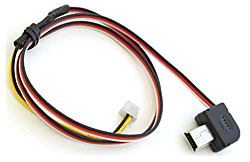 GoProHD Hero3-Hero4 Camera Cable for FatShark Cased vTx