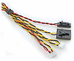 Video Cable for Phantom2 with DJI iOSD Mini & Zenmuse (ImmersionRC ~ FatShark)