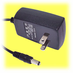 12VDC Power Adapter, 1.2 Amp (North American)