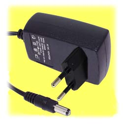 12VDC Power Adapter, 600mA (European)
