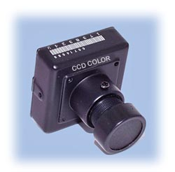 DPC-480X Color CCD Camera / 480-TVL (5-15V)