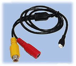 Cable for DPC-171 & DPC-520S CCD Cameras