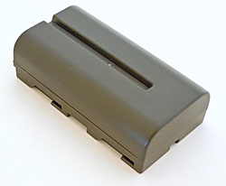 Li-Ion Battery, 7.2V / 2100mAH (NP-F550 Type)