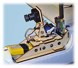 FPV Pod Pan & Tilt Kit for ParkZone Radian