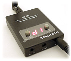 RC58-40CH 5.8GHz 40-Channel A/V Receiver (Boscam)