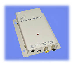900MHz A/V Receiver with Comtech Tuner