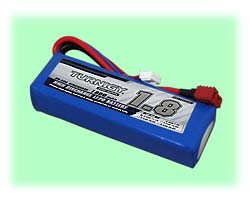 LiPO Battery - 11.1VDC (3-Cell) / 1800mAH