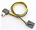 GoProHD Hero3-Hero4 Camera Cable for Flysight ~ Boscam ~ Foxtech Transmitters