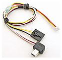 Video Cable for DJI iOSD Mini (Flysight ~ Boscam ~ Foxtech / Hero3 - Hero4)