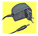 5VDC Power Adapter, 600mA (European)