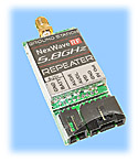 5.8GHz 7-Channel A/V Transmitter, 10mW Repeater