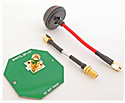 5.8GHz Circular Polarized FPV Antenna Kit, RHCP (SMA)