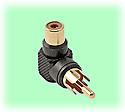 RCA Right Angle Adapter