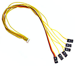 "Vector Receiver Connection Harness Cable (Extended Length, 12"")"
